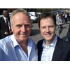 Brian Mathew and Nick Clegg visit DYMAG Chippenham