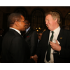 Brian meeting with his Excellency Jakaya Kikwete. President of Tanzania