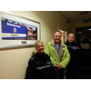Brian with Calne police officers