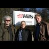 Brian with local councillors Howard Marshall and Rob MacNaughton